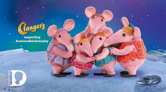 Clangers National Kindness Day